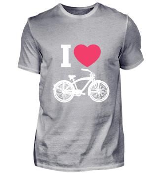 I Love Bicycle- Sport Birthday Gift