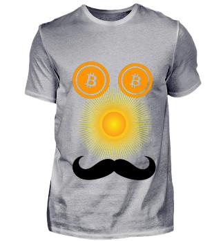 Bitcoin-Gesicht