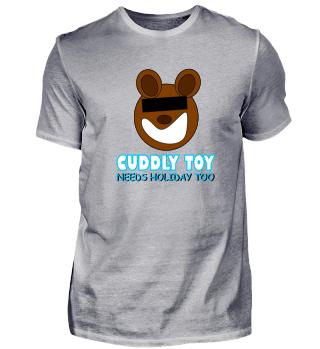 Funny Bear needs Holiday