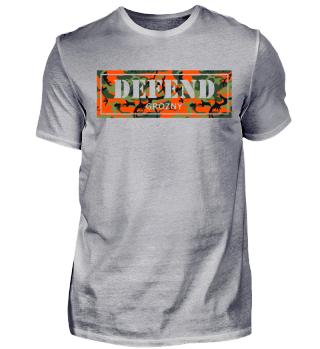 Defend Grozny Camoufalge T-Shirt