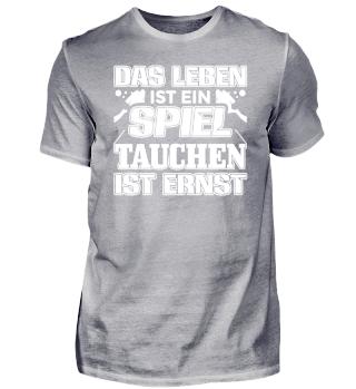 Lustiges Taucher Tauchen Shirt Das Leben