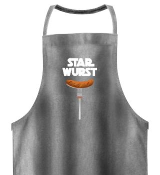 Star Wurst - Die Grillschürze Geschenk