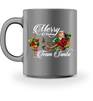 ♥ MERRY CHRISTMAS · TEAM SANTA #1WT
