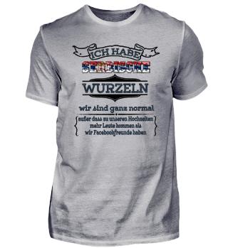 Ich habe serbische Wurzeln - Serbien Shirt