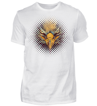 Strong EAGLE Face halftone I