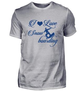 ☛ I LOVE SNOWBOARDING #4B