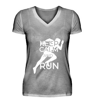 KEEP CALM AND RUN