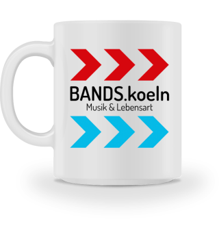 BANDS.koeln - Tasse