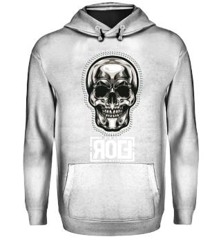 Rolf Schweizer Design SilverSkull Hoodie
