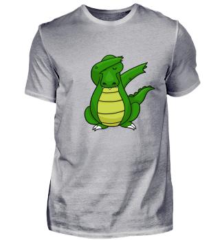 Krokodil Shirt Kroko Dab Kinder Geschenk