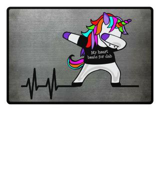 Dabbing Unicorn - Heartbeats Dab 1a