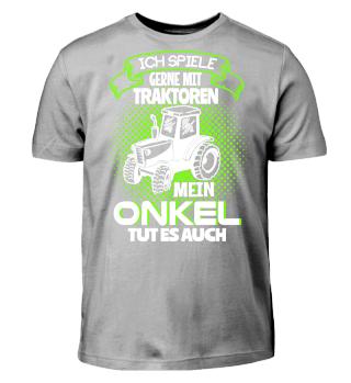 Kinder Shirts - Onkel Traktor spielen