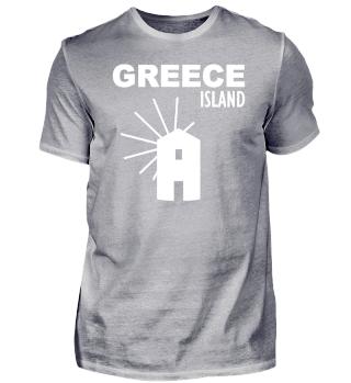 Griechenland Insel - Island Windmühle