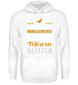 Möwen Glitzer | Vintage Goldedition