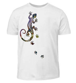 ♥ Ethnological Running Gecko I