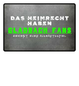 Gladbach Fußmatte Heimrecht