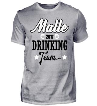 Malle drinking team