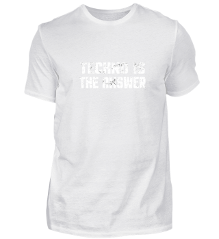 Techno Is The Answer - Electro Music