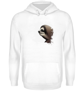 Faultier sloth grunge style gift