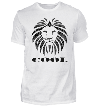 COOL LION Shirt Gift Ideas CAT T-Shirt