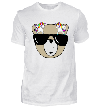 Dabbing Unicorns - Cool Teddy Bear 1