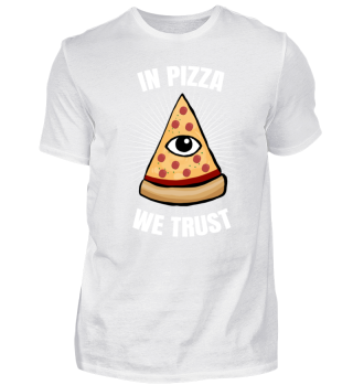 Cool Pizza Slice Trust Allseeing Eye