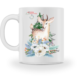 ♥ MERRY CHRISTMAS · DEER #7CT