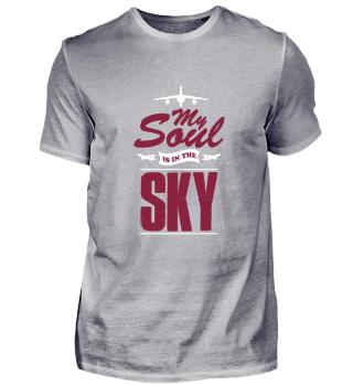 Pilot travel sky gift