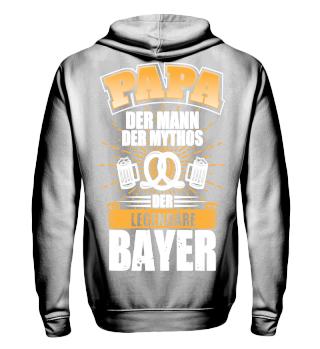 Papa der Mann der legendäre Bayer