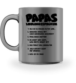 Papas Lieblingssprüche - Geschenk