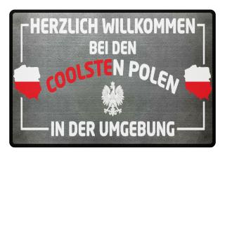 Fußmatte - Willkommen bei coolsten Polen