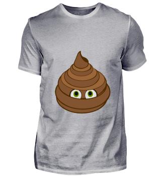 Kack-Wurst Comic Fun Motiv Shirt