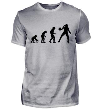 Evolution zur Handballerin