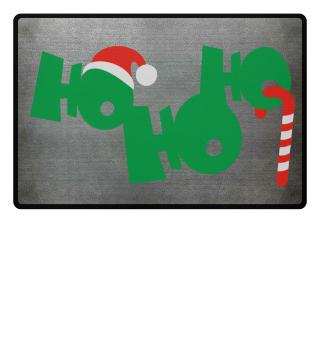 Christmas HO HO HO - Cap Candy Cane 2