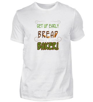 Baker Bäcker Bread Brot Geschenk Gift