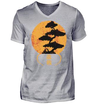 Bonsai Shirt Geschenk Baum im Topf