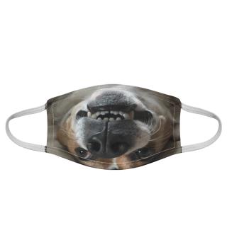 Gesichtsmaske mit Hundemotiv 20.23