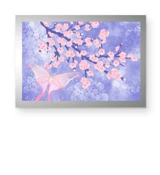 ★ Cherry Blossoms Butterfly Mandala 2a