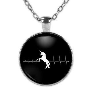 Heartbeat Einhorn - Kette