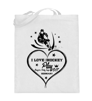 ☛ I LOVE ICE HOCKEY #3S