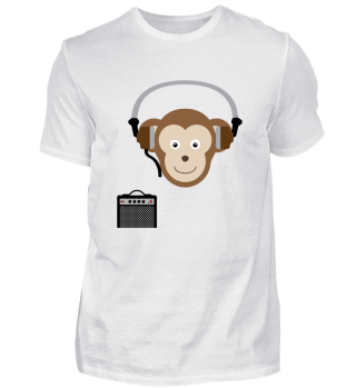 Funky Music Monkey Affe tolles Geschenk