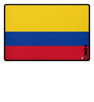 fussballkind - Fussmatte Kolumbien