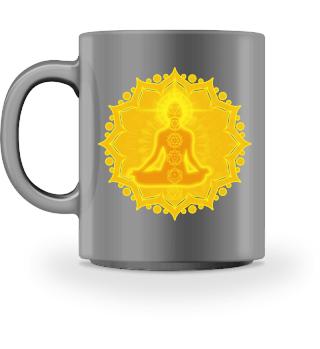 ♥ Yoga Lotus Meditation Chakren III Tass
