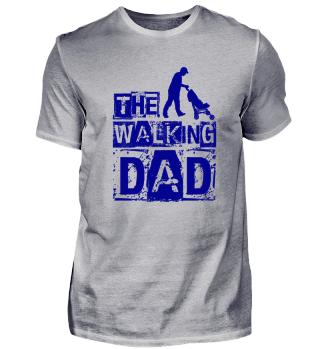The walking dad - blau