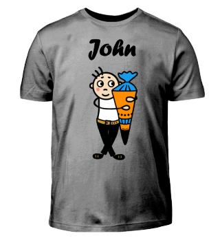 John - Einschulung I-Dötzchen