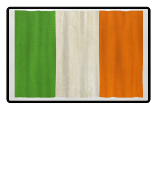 ★ National flag of Ireland - grunge