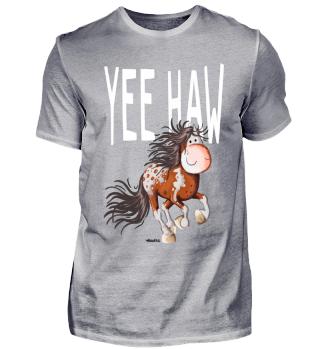 YEE Haw Westernpferd I Comic