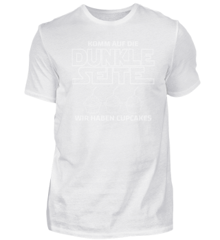 Dunkle Seite Cupcakes