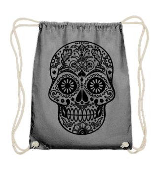 Gothic Ornaments Sugar Skull - black