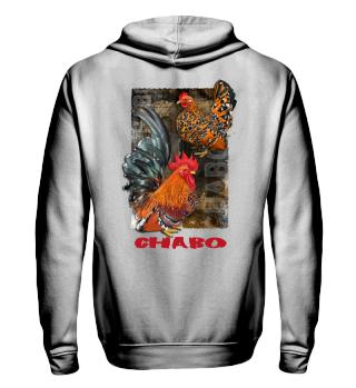 Chabo porzellan Hoodie mit Reißverschl.